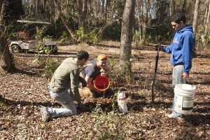 February Tree Planting at Fair Oaks - 35