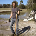 Matt Kavanaugh at Fair Oaks - Pond Digging