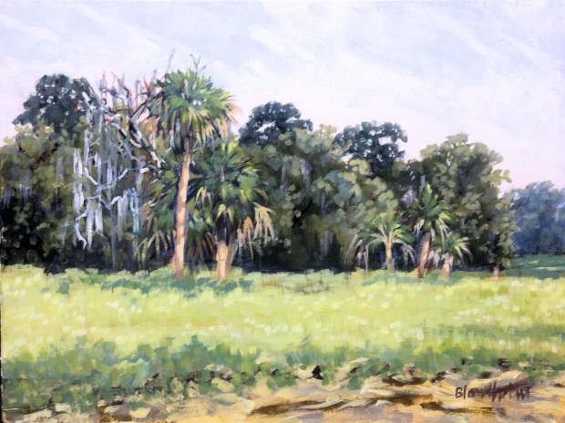 Rye Field Palms  – Linda Blondheim